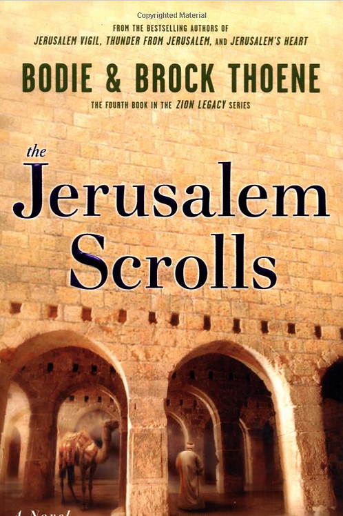 The Jerusalem Scrolls - Autographed Hard Cover Book