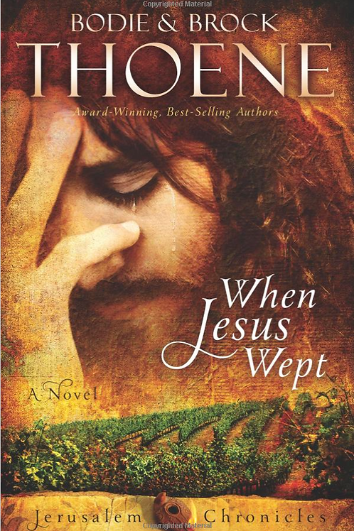 When Jesus Wept - Autographed Soft Cover Book
