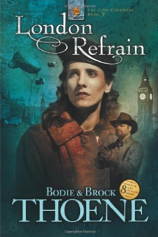London Refrain - Autographed Soft Cover Book