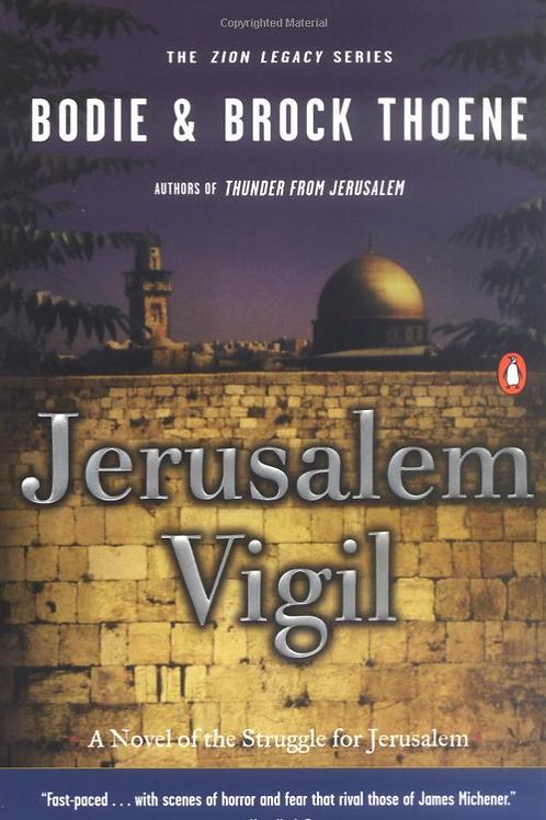 Jerusalem Vigil - Autographed Soft Cover Book