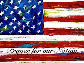 Guest Blog - Prayer For Our Nation