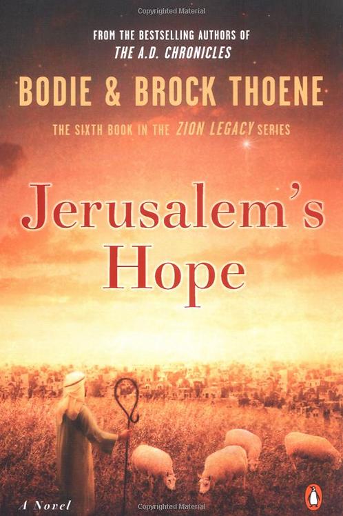 Jerusalem's Hope - Autographed Hard Cover Book