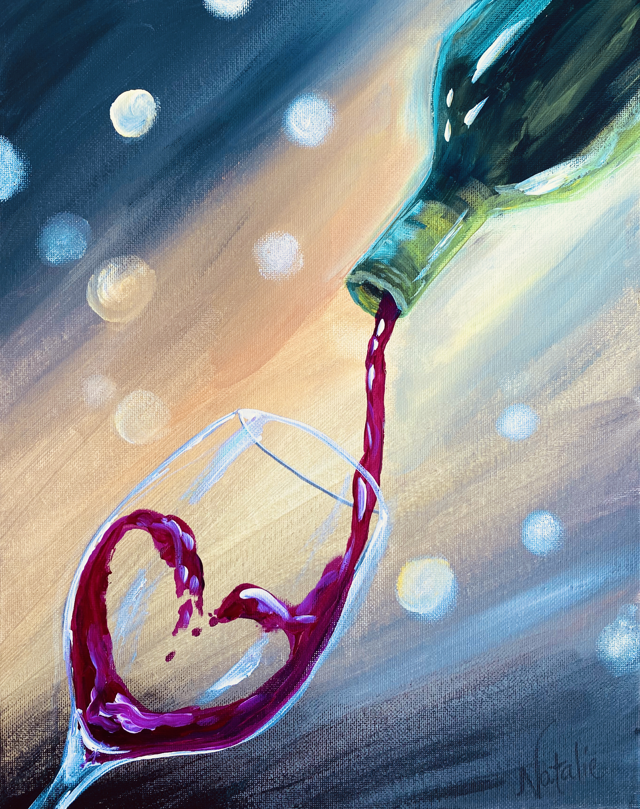Pour on the Love