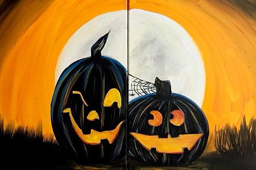 Glow in the Dark Pumpkin Friends