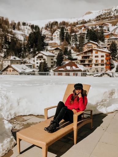 Colaboracion con el hotel Crystal St Moritz