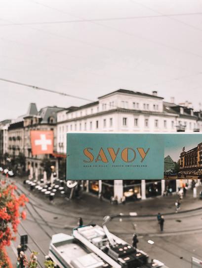 Savoy Baur Zürich, lujo y simplicidad con vista a Paradeplatz