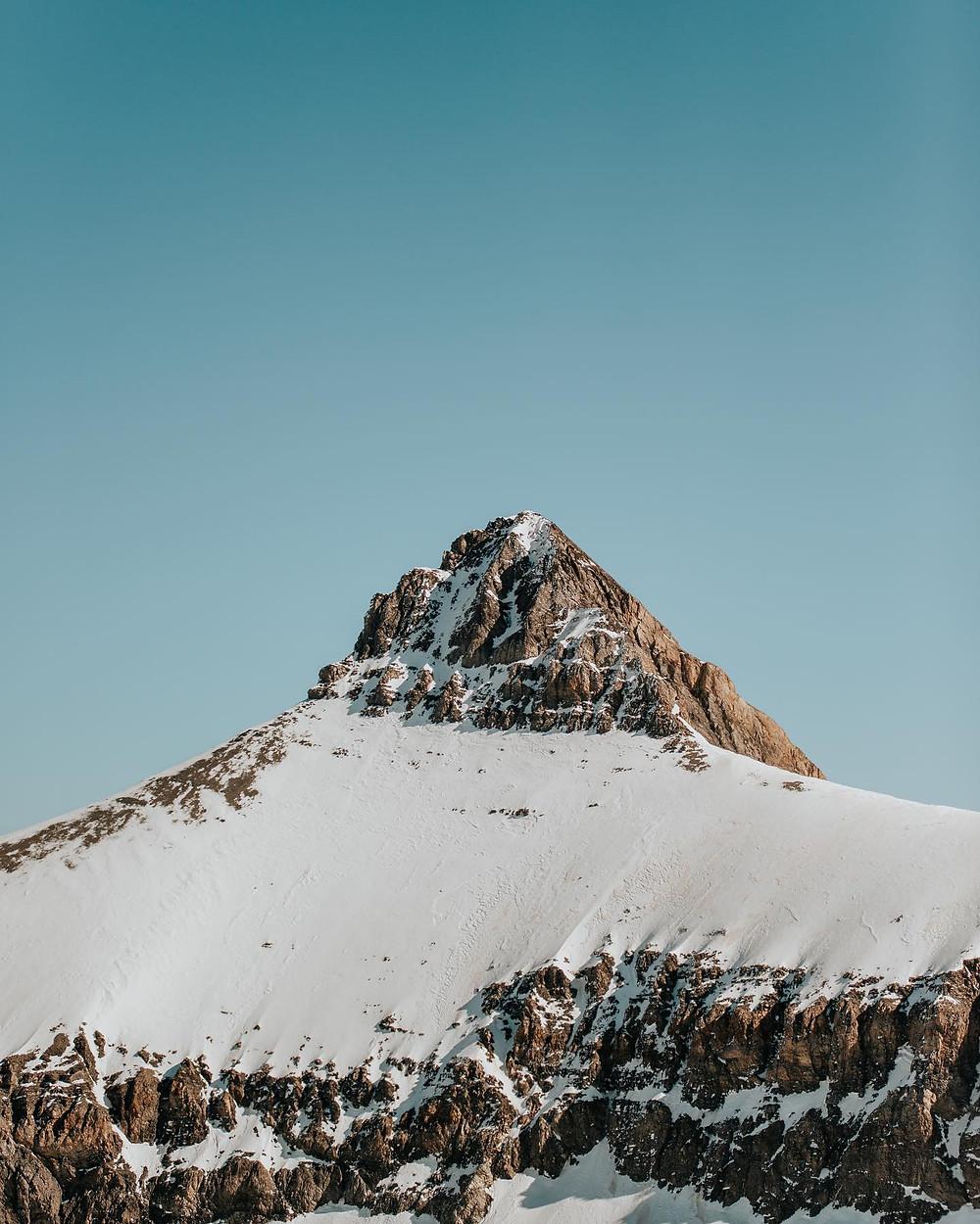 glacier 3000, alpes suizos