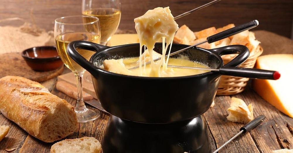 fondue, comida en suiza