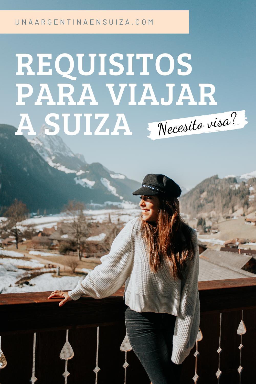 requisitos para viajar a suiza