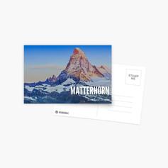 Postal Suiza - Matterhorn EUR 1,68