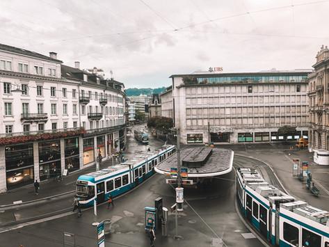 Transporte público en Suiza