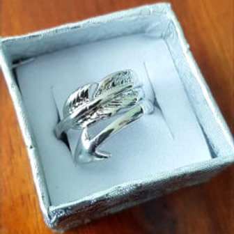 Feather and Arrow ring