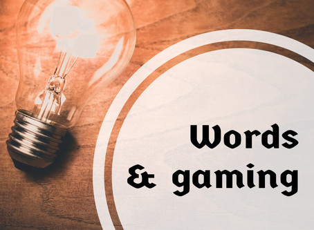 Words and Gaming