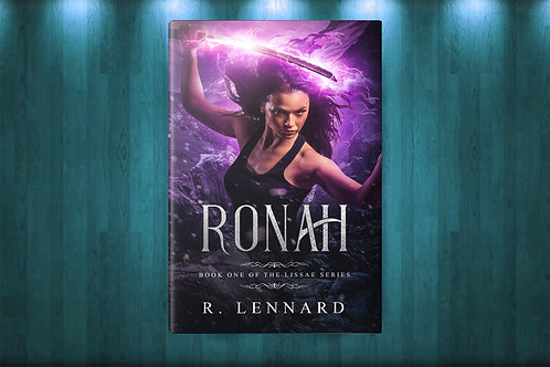 First edition copy of Ronah - signed