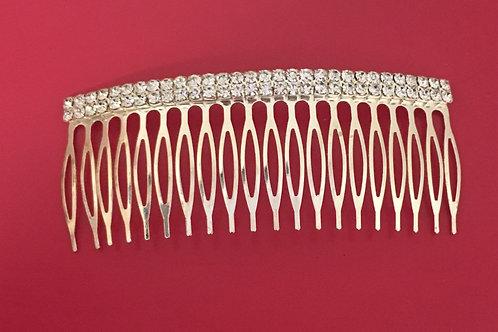 Jewel Studded Hair Comb