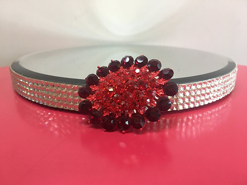 Red Jeweled Broach