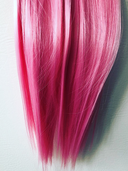Pink Clip-in Hair Extension