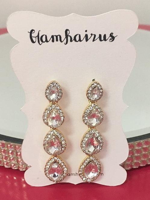 Tear Drop Dangle Earrings