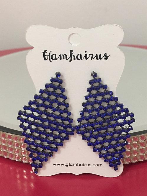 Royal Blue Dangle Earrings