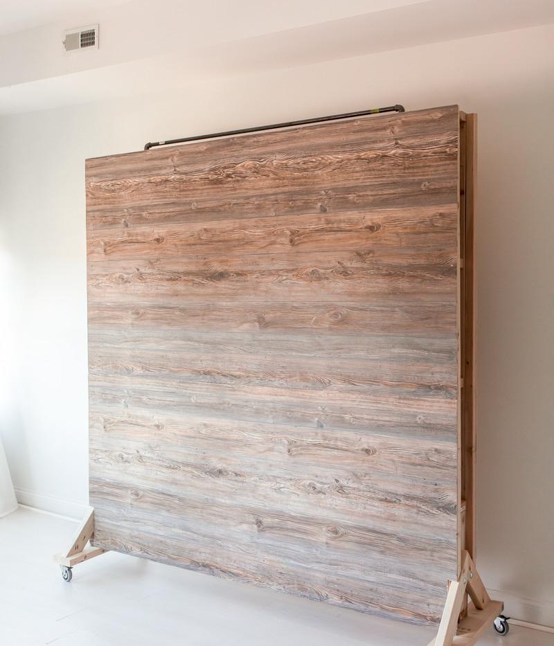 Rolling backdrop photo studio