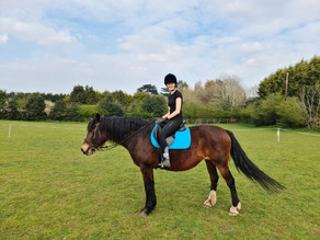 Confidence under the saddle - Neens Carrie