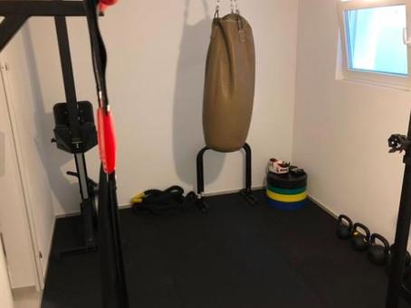 Homegym / Trainingsraum mieten / Fitnessraum mieten in Erding