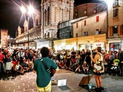 Ferrara busker festival Italia