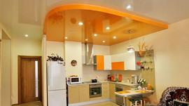 Натяжной потолок на кухне Минск.