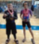 Kids win medals at BJJ tornamet Nov 4 2017