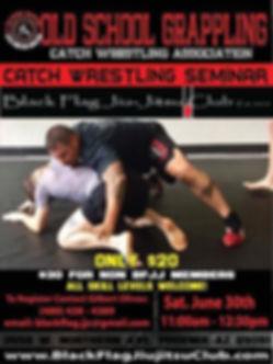 Brazilian Jiu-Jitsu Catch Wrestling Seminar