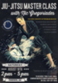 Nic Gregoriades Brazilian Jiu-Jitsu Seminar at Black Flag Jiu-Jitsu Club