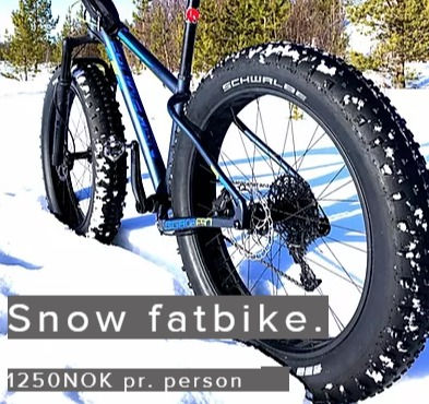 Snow fatbike