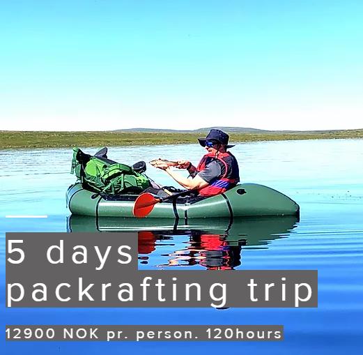 5 days packrafting trip