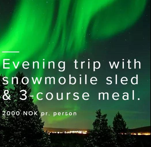 Northern lights tour w/food