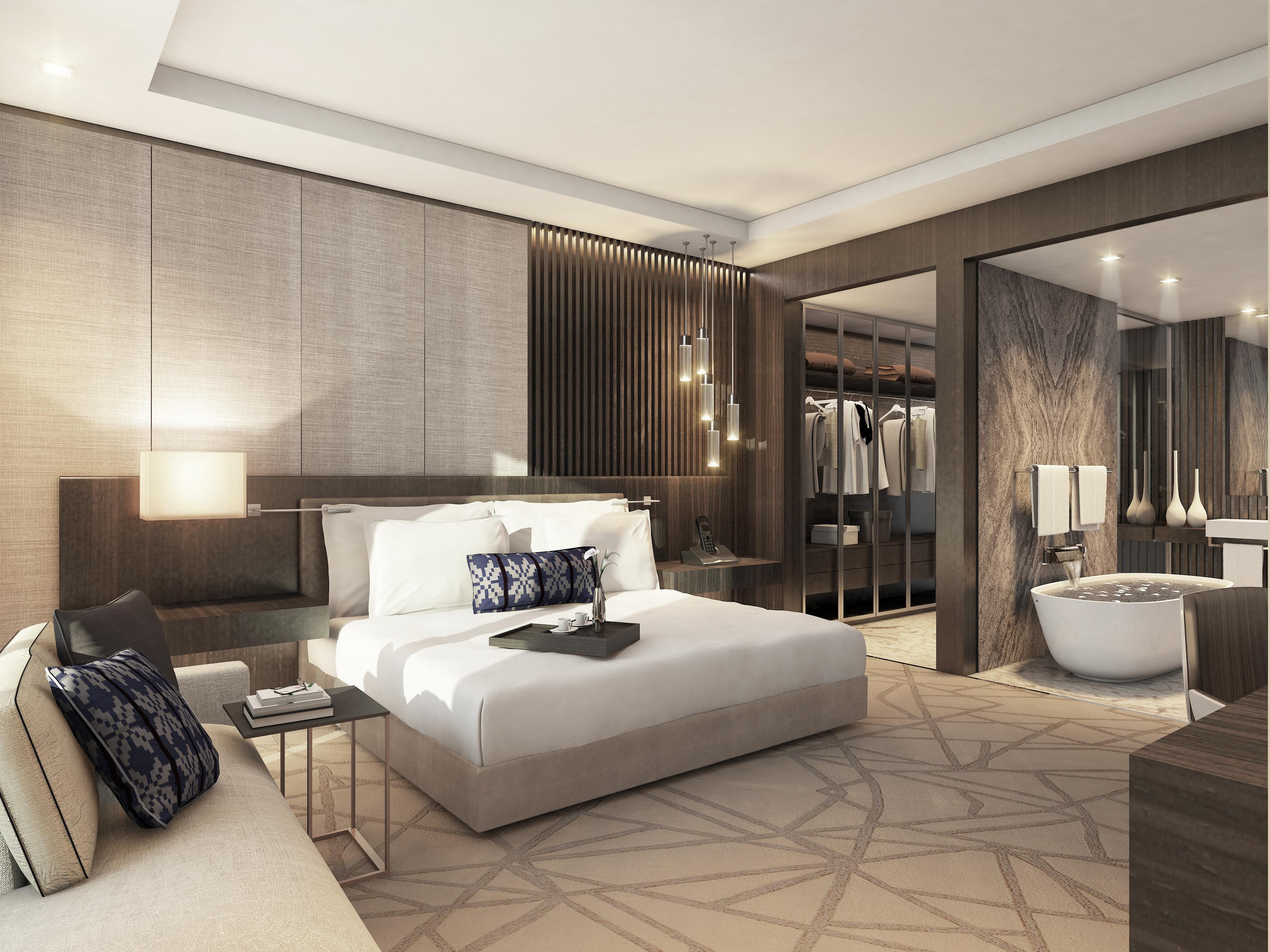 1 BED SUITE- BEDROOM