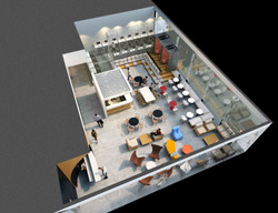 PLAN OF LOBBY AND RECEPTION