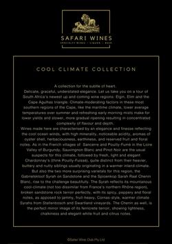 Collection description