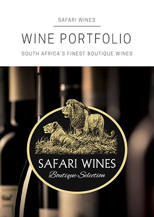 Safari Wines Wine Portfolio 2018