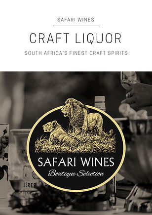 Safari Wines Craft Liquor Portfolio 2018