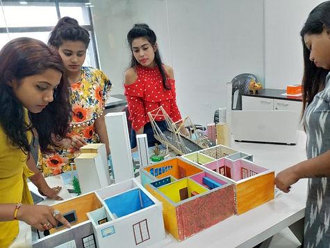practical training with interior design