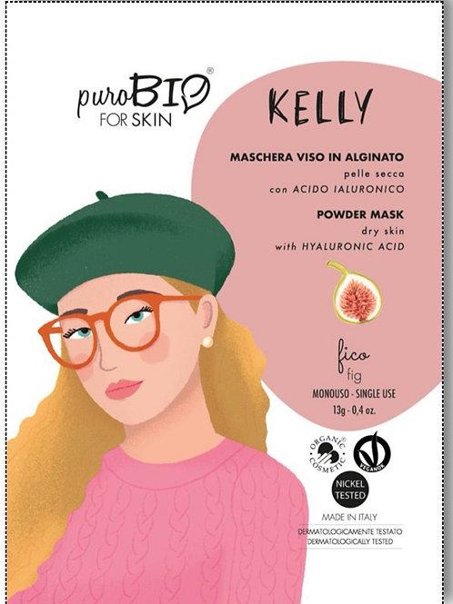 Kelly Maschera viso Peel-Off per Pelle Secca con Acido Ialuronico- PUROBIO