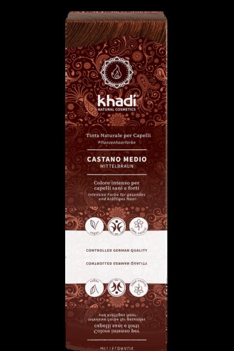 Tinta Vegetale Castano Medio - KHADI