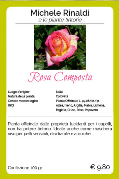 Rosa Composta - MICHELE RINALDI