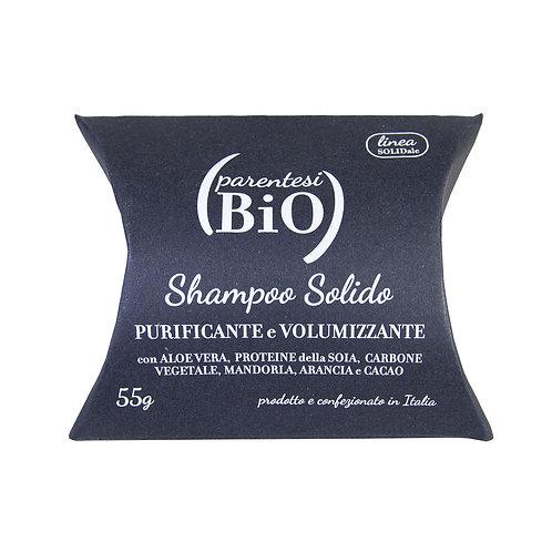 Shampoo Solido Purificante e Volumizzante - PARENTESI BIO