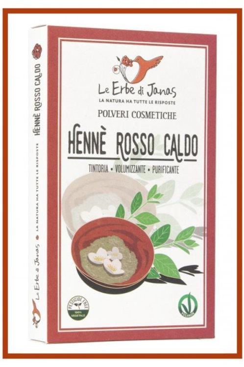 Hennè rosso caldo (LAWSONIA) - LE ERBE DI JANAS