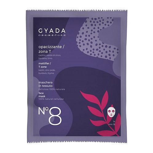 Maschera in Tessuto - N°8 Opacizzante/Zona T - GYADA