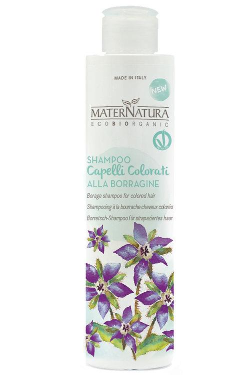 Shampoo Capelli Colorati alla Borraggine- MATERNATURA