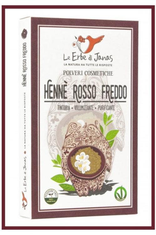 Hennè Rosso Freddo (LAWSONIA) - LE ERBE DI JANAS