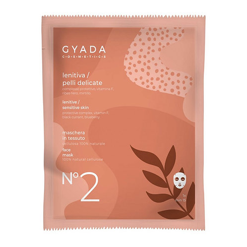 Maschera in Tessuto - N°2 Lenitiva/Pelli Delicate - GYADA