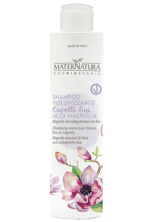 Shampoo Volumizzante Capelli Fini alla Magnolia- MATERNATURA